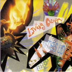 Cover - Living Colour: Time's Up