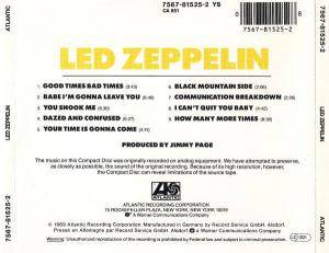 Led Zeppelin: Led Zeppelin (CD) - Bild 2