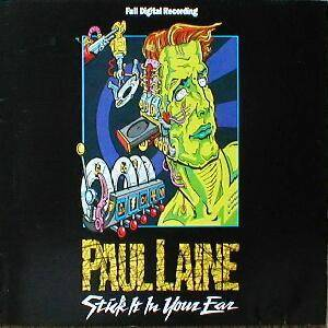Paul Laine: Stick It In Your Ear - Cover