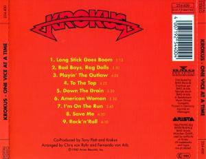 Krokus: One Vice At A Time (CD) - Bild 3