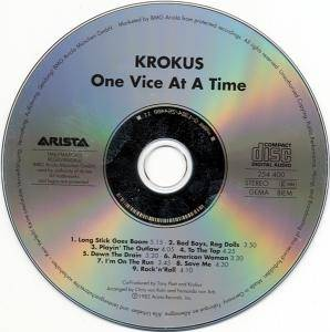 Krokus: One Vice At A Time (CD) - Bild 4