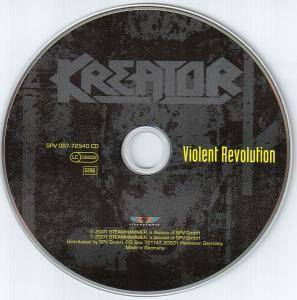 Kreator: Violent Revolution (CD) - Bild 3