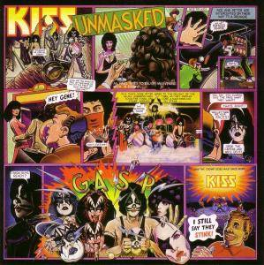 KISS: Unmasked - Cover