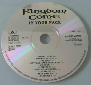 Kingdom Come: In Your Face (CD) - Bild 3