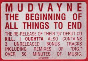 Mudvayne: The Beginning Of All Things To End (CD) - Bild 4