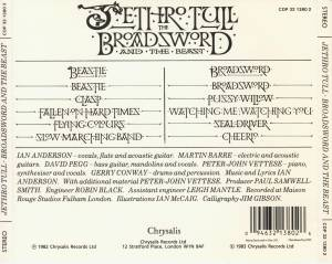 Jethro Tull: The Broadsword And The Beast (CD) - Bild 3