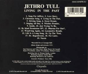 Jethro Tull: Living In The Past (CD) - Bild 2