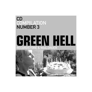 Cover - Hawaiians, The: Green Hell CD Compilation Number 3