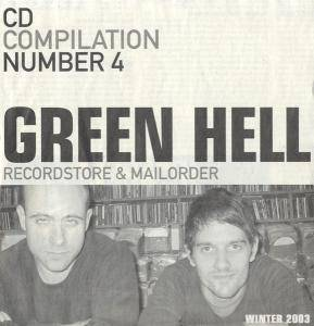 Cover - Gunmoll: Green Hell CD Compilation Number 4