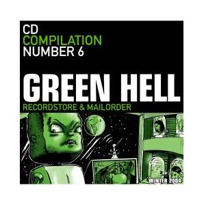 Cover - Hermano: Green Hell CD Compilation Number 6
