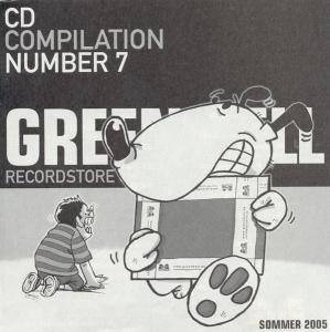 Cover - Rentokill: Green Hell CD Compilation Number 7