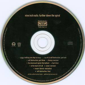 Nine Inch Nails: Further Down The Spiral (CD) - Bild 3