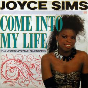Cover - Joyce Sims: Come Into My Life