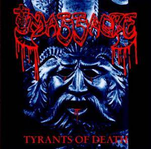 Massacre: Tyrants Of Death - Cover