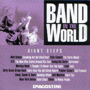 Cover - New York Voices: Band In The World - Giant Steps