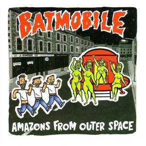 Cover - Batmobile: Amazons From Outer Space