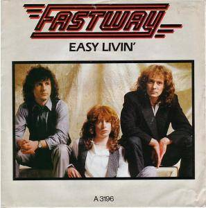Fastway: Easy Livin' - Cover