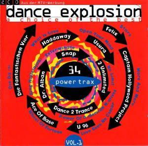 Cover - Co.Ro. Feat. Taleesa: Dance Explosion Vol. 1