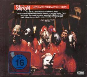 Slipknot: Slipknot - 10th Anniversary Edition (CD + DVD) - Bild 1