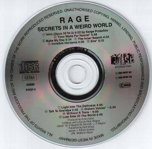 Rage: Secrets In A Weird World (CD) - Bild 3