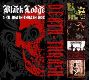 Cover - Face Down: Black Lodge 4CD Death-Thrash Box