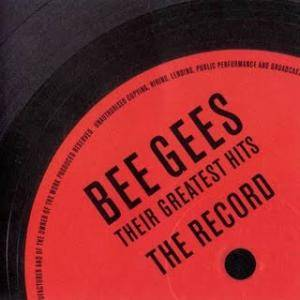 Bee Gees: Their Greatest Hits - The Record - Cover