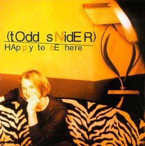 Todd Snider: Happy To Be Here - Cover