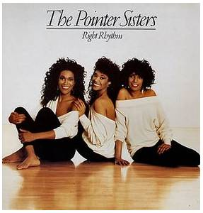 The Pointer Sisters: Right Rhythm - Cover