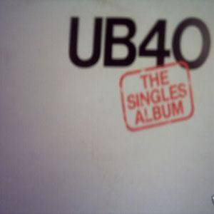 UB40: Singles Album, The - Cover
