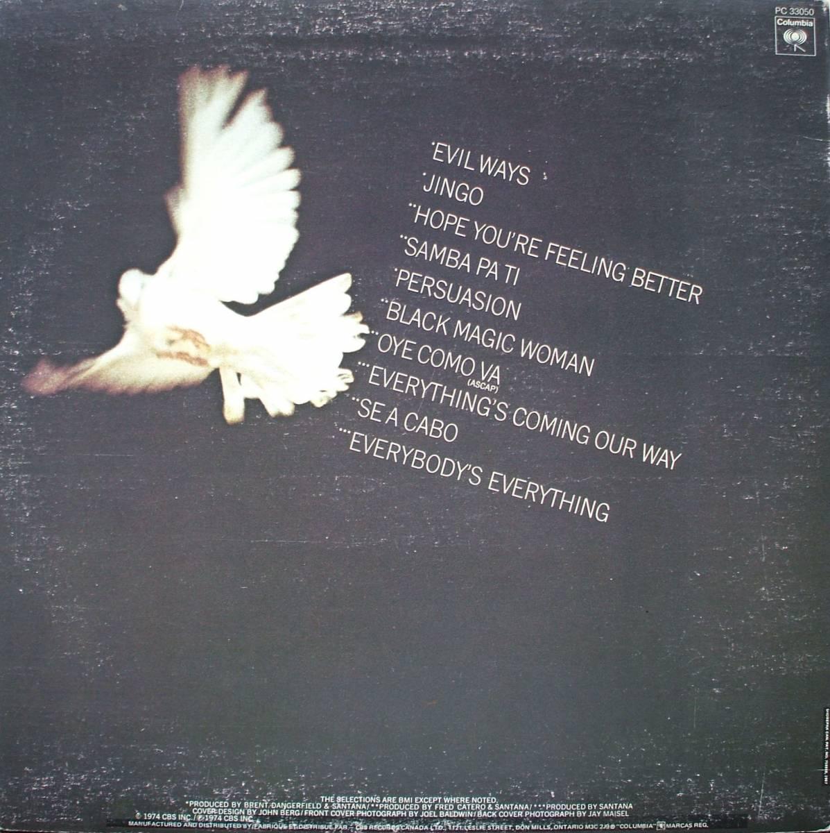 Santana Santanas Greatest Hits Lp 1974 Best Of