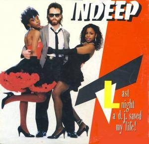 Cover - Indeep: Last Night A D.J. Saved My Life!