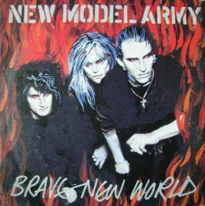 New Model Army: Brave New World - Cover