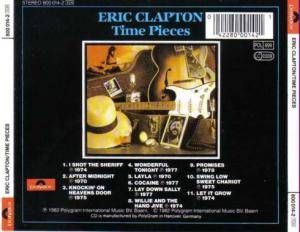 Eric Clapton / Derek And The Dominos: Time Pieces - The Best Of Eric Clapton (Split-CD) - Bild 5