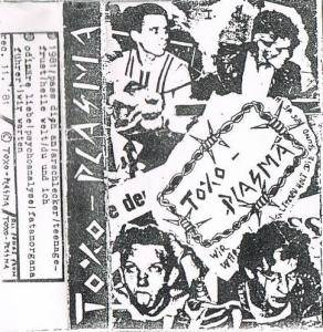 Toxoplasma: Demo Tape '81 - Cover
