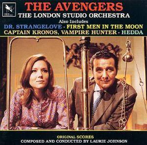 Cover - Laurie Johnson: Avengers, The