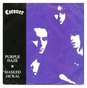 Coroner: Purple Haze / Masked Jackal - Cover