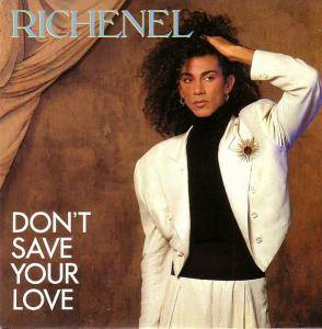 Cover - Richenel: Don't Save Your Love
