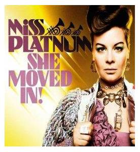 Miss Platnum: She Moved In! - Cover