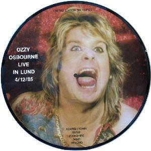 Ozzy Osbourne: Live In Lund 4/12/85 - Cover