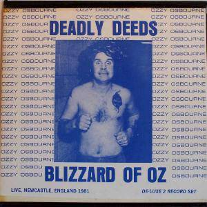 Ozzy Osbourne: Deadly Deeds - Cover