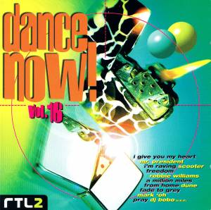 Dance Now! Volume 16 - Cover