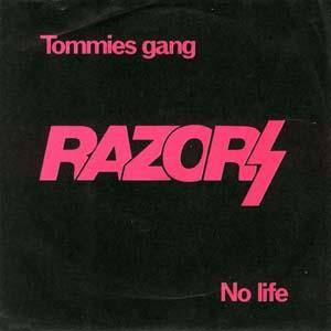 Cover - Razors: Tommies Gang