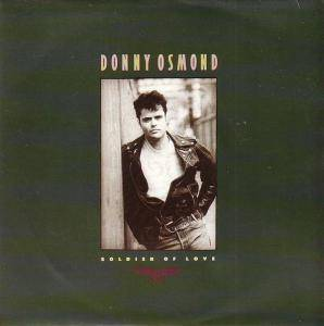 Donny Osmond: Soldier Of Love - Cover