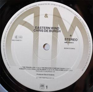 Chris de Burgh: Eastern Wind (LP) - Bild 3