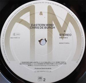 Chris de Burgh: Eastern Wind (LP) - Bild 4