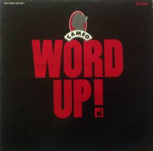 Cameo: Word Up! - Cover