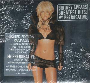 Britney Spears: Greatest Hits: My Prerogative - Cover