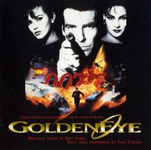 Tina Turner: GoldenEye - Cover