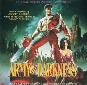 Cover - Joseph LoDuca: Army Of Darkness