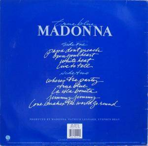 Madonna: True Blue (LP) - Bild 2